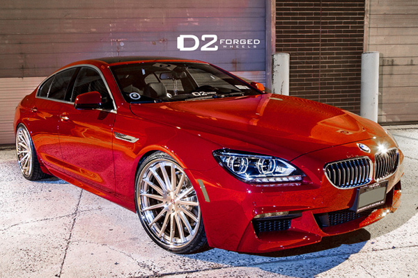 BMW 6-Series Gran Coupe от D2FORGED Wheels