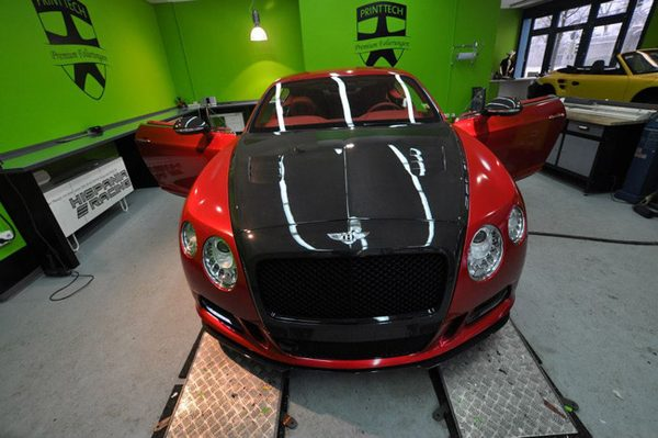 Bentley Continental GT в тюнинге Print Tech